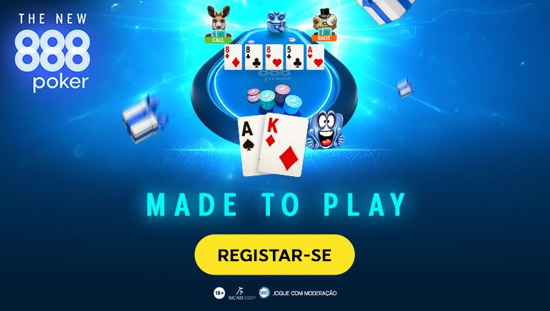 O 888poker Lança Nova Plataforma com Suporte de Novas Tecnologias