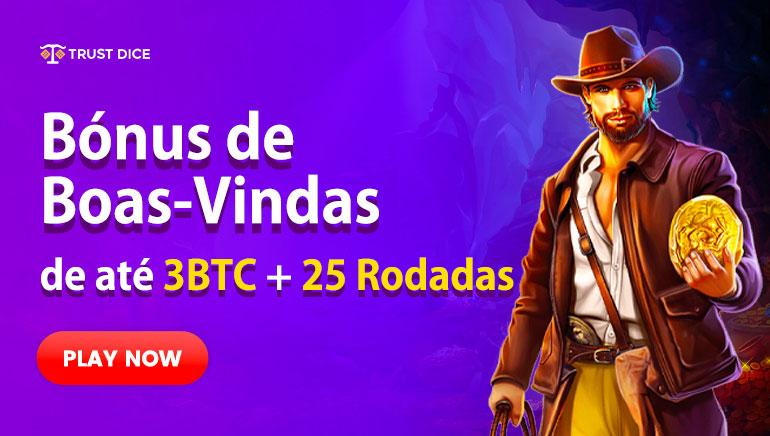 Trust Dice Casino - BÔNUS DE BOAS-VINDAS $10000- 100% Bônus de Equiparação
