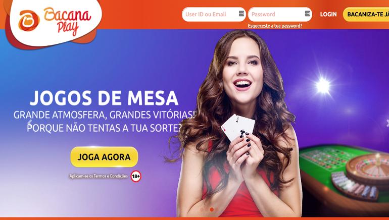 O BacanaPlay Casino Recebe Licença de Jogo Portuguesa