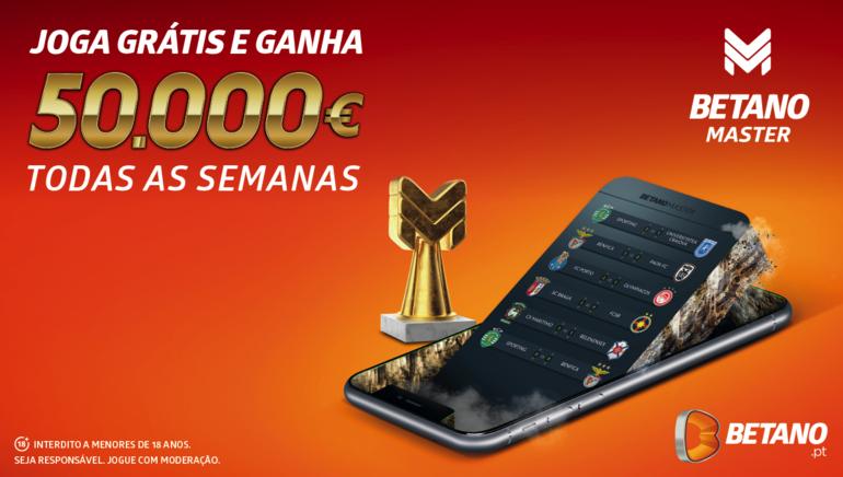 O Regresso do Betano Master promete ser um sucesso, mas agora com prémio de 50.000€ e muito mais