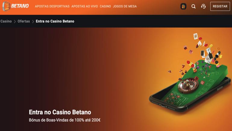 Obtém 25 Jogadas Gratuitas e um Bónus de 100% até €200 ao Registar-te no Betano Casino