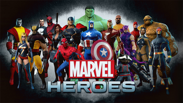 Junte-se aos Heróis Mavel no Online Casino