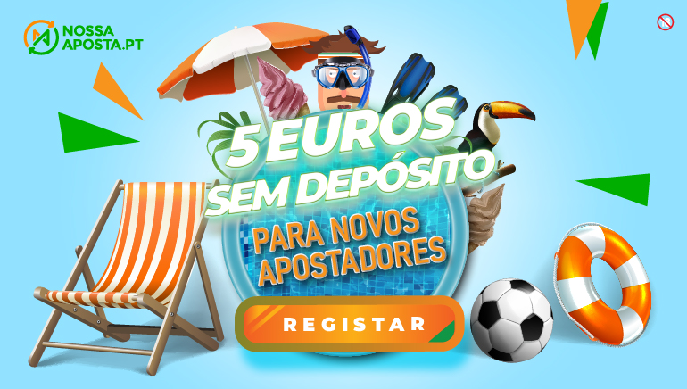 Oferta Promocional de 5€ para Jogadores do Nossa Aposta