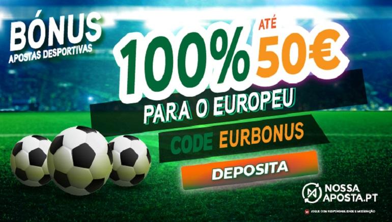 Ofertas Nossa Aposta Portugal para o Euro 2020