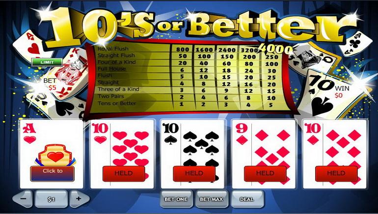 Vídeo Póquer Online