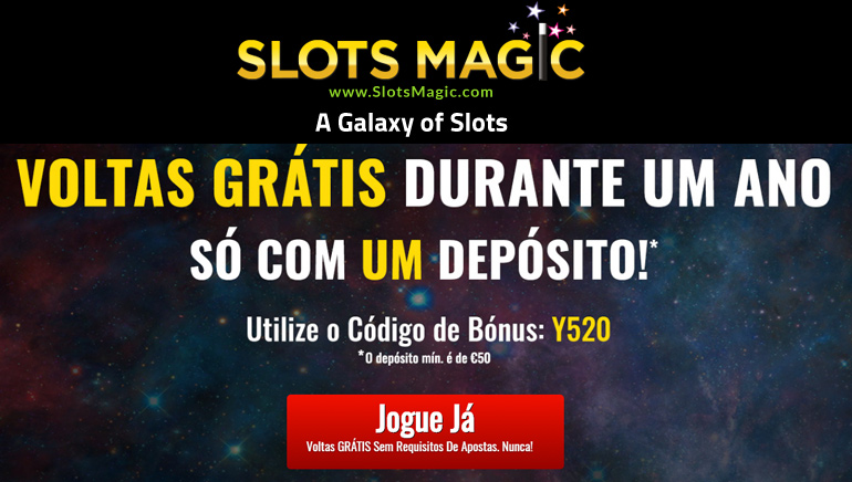 Slots Magic - Free Spins for a Year