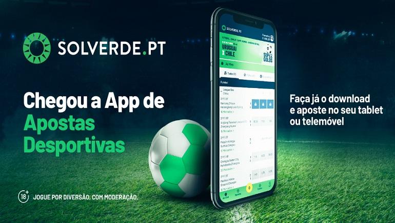 Solverde.pt Lança Aplicação de Apostas Desportivas