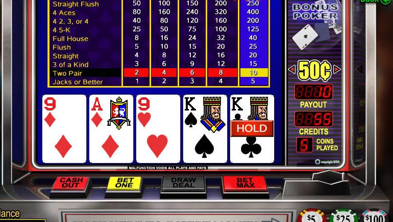 Vídeo Póquer Online Grátis