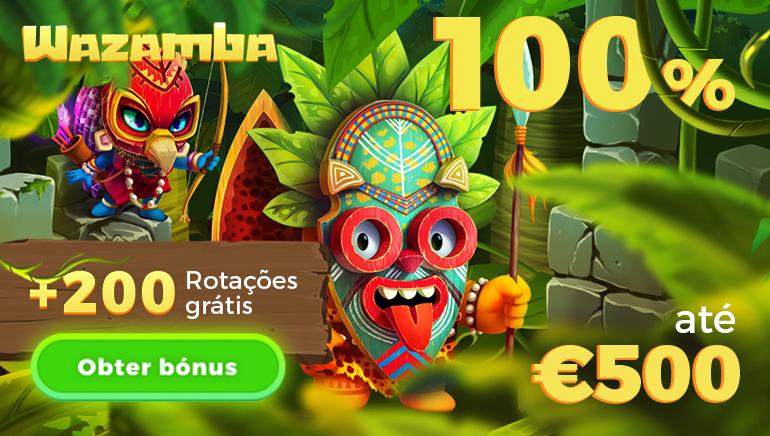 Descobre o Emocionante Mundo do Wazamba Casino Com 500€ de Bónus & 200 Giradas Grátis