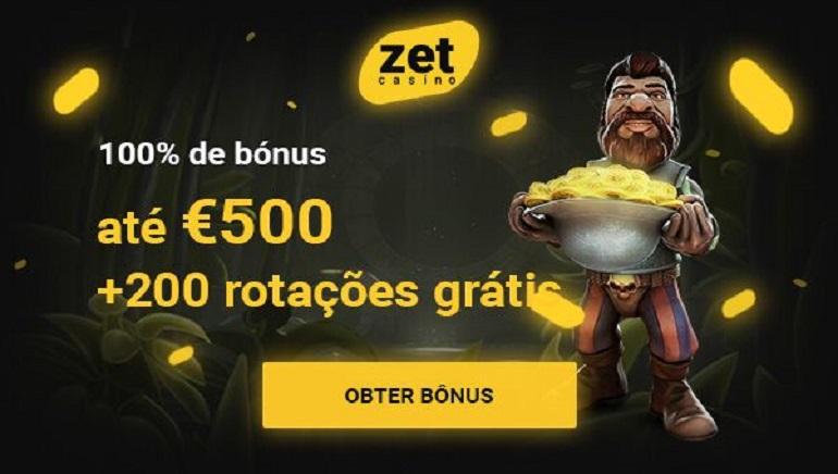 Enorme Bónus de Boas-Vindas & 200 Giradas Grátis Esperam-te no Zet Casino